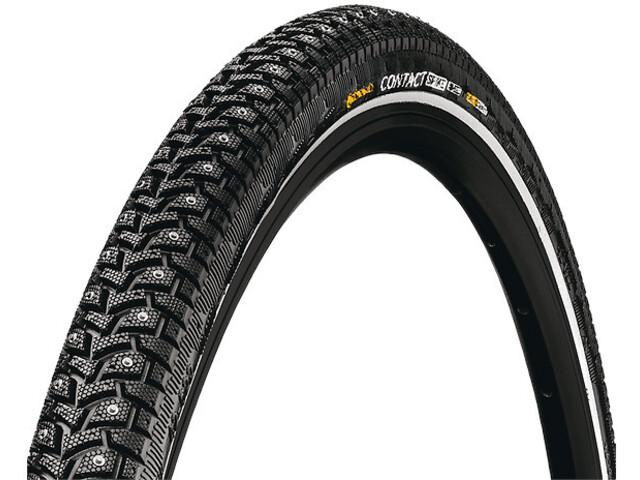 """Continental Contact Spike 120 Clincher Tyre 28x1.25"""" E-25 Reflex, zwart"""